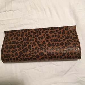 Banana Republic evening bag  animal print